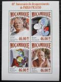 Poštovní známky Mosambik 2013 Umění, Pablo Picasso Mi# 6872-75 Kat 11€