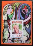 Poštovní známka Mosambik 2013 Umění, Pablo Picasso Mi# Block 814 Kat 10€