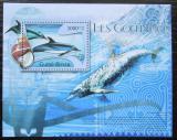 Poštovní známka Guinea-Bissau 2012 Delfíni Mi# Block 1017 Kat 12€