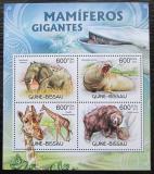 Poštovní známky Guinea-Bissau 2012 Velcí savci Mi# 6067-70 Kat 9.50€