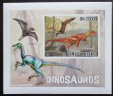 Poštovní známka Svatý Tomáš 2010 Dinosauři DELUXE neperf. Mi# 4383 B Block