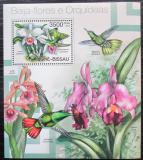 Poštovní známka Guinea-Bissau 2012 Orchideje a kolibříci Mi# Block 1067 Kat 14€