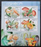 Poštovní známky Guinea-Bissau 2012 Houby Mi# 6017-20 Kat 12€
