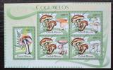 Poštovní známky Guinea-Bissau 2012 Houby Mi# 5758-62 Kat 12€