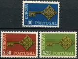 Poštovní známky Portugalsko 1968 Evropa CEPT Mi# 1051-53 Kat 25€