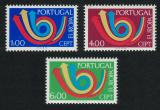 Poštovní známky Portugalsko 1973 Evropa CEPT Mi# 1199-1201 Kat 45€