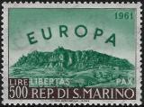 Poštovní známka San Marino 1961 Evropa CEPT Mi# 700 Kat 40€
