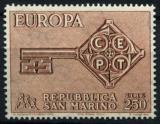 Poštovní známka San Marino 1968 Evropa CEPT Mi# 913