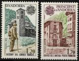 Poštovní známky Andorra Fr. 1979 Evropa CEPT Mi# 297-98 Kat 5.50€