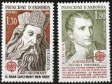 Poštovní známky Andorra Fr. 1980 Evropa CEPT Mi# 305-06 Kat 4€