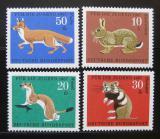 Poštovní známky Německo 1967 Fauna Mi# 529-32