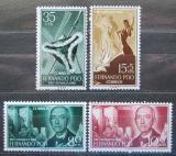 Poštovní známky Fernando Poo 1960 Manuel de Falla, skladatel Mi# 184-87
