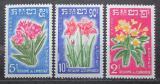 Poštovní známky Kambodža 1961 Místní flóra Mi# 118-20 Kat 5.50€