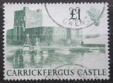 Poštovní známka Velká Británie 1988 Hrad Carrickfergus Mi# 1174