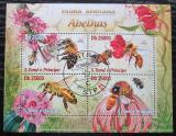 Poštovní známky Svatý Tomáš 2013 Včely Mi# 5061-64 Kat 10€