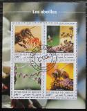 Poštovní známky Džibutsko 2018 Včely Mi# N/N