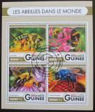 Poštovní známky Guinea 2016 Včely Mi# 11931-34 Kat 16€