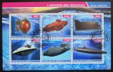 Poštovní známky Džibutsko 2015 Ponorky Mi# N/N