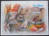 Poštovní známky Pobřeží Slonoviny 2018 Sovy Mi# N/N