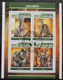 Poštovní známky Togo 2017 Kočky Mi# 8219-22 Kat 13€