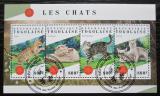 Poštovní známky Togo 2018 Kočky Mi# 9066-69 Kat 13€