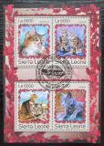 Poštovní známky Sierra Leone 2016 Kočky Mi# 7993-96 Kat 11€