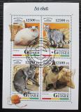 Poštovní známky Guinea 2018 Kočky Mi# 12820-23 Kat 20€