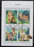 Poštovní známky Mosambik 2018 Kočky Mi# N/N