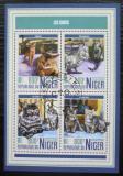 Poštovní známky Niger 2017 Kočky Mi# 5266-69 Kat 13€