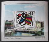 Poštovní známka Polsko 1986 Výstava Stockholmia Mi# Block 100