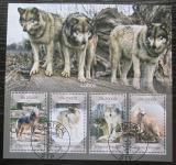 Poštovní známky Svatý Tomáš 2014 Vlk obecný Mi# 5734-37 Kat 10€