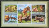 Poštovní známky Svatý Tomáš 2007 Vlk obecný Mi# 3036-39 Kat 12€