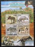 Poštovní známky Niger 2013 Hyeny Mi# 2109-12 Kat 12€