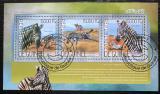 Poštovní známky Guinea 2014 Zebra Grévyho Mi# 10363-65 Kat 18€