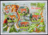 Poštovní známky Pobřeží Slonoviny 2018 Tygři Mi# N/N