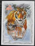 Poštovní známka Pobřeží Slonoviny 2018 Tygři Mi# N/N