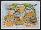 Poštovní známky Pobřeží Slonoviny 2018 Lvi Mi# N/N