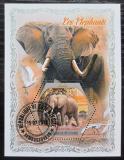 Poštovní známka Pobřeží Slonoviny 2018 Sloni Mi# N/N