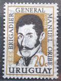 Poštovní známka Uruguay 1961 Prezident Manuel Oribe Mi# 897