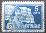 Poštovní známka Uruguay 1930 Státní vlajka Mi# 407
