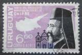 Poštovní známka Uruguay 1967 Makarios III., prezident Kypru Mi# 1068