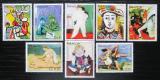 Poštovní známky Paraguay 1981 Umění, Picasso s kupónem Mi# 3436-42 Kat 6.50€