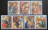 Poštovní známky Paraguay 1982 Umění, život Krista Mi# 3568-74 Kat 10€
