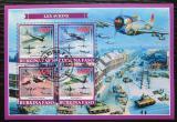 Poštovní známky Burkina Faso 2019 Válečná letadla Mi# N/N