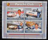 Poštovní známky Svatý Tomáš 2008 Automobily Porsche Mi# 3302-05