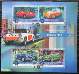 Poštovní známky Maledivy 2015 Porsche 912 Mi# 5885-88 Kat 10€