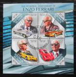 Poštovní známky Šalamounovy ostrovy 2013 Ferrari Mi# 2072-75 Kat 9.50€