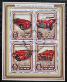 Poštovní známky Šalamounovy ostrovy 2017 Ferrari Mi# 4411-14 Kat 12€