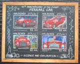 Poštovní známky Maledivy 2017 Ferrari Mi# 7058-61 Kat 11€