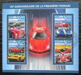 Poštovní známky Čad 2017 Ferrari Mi# 3176-79 Kat 12.80€